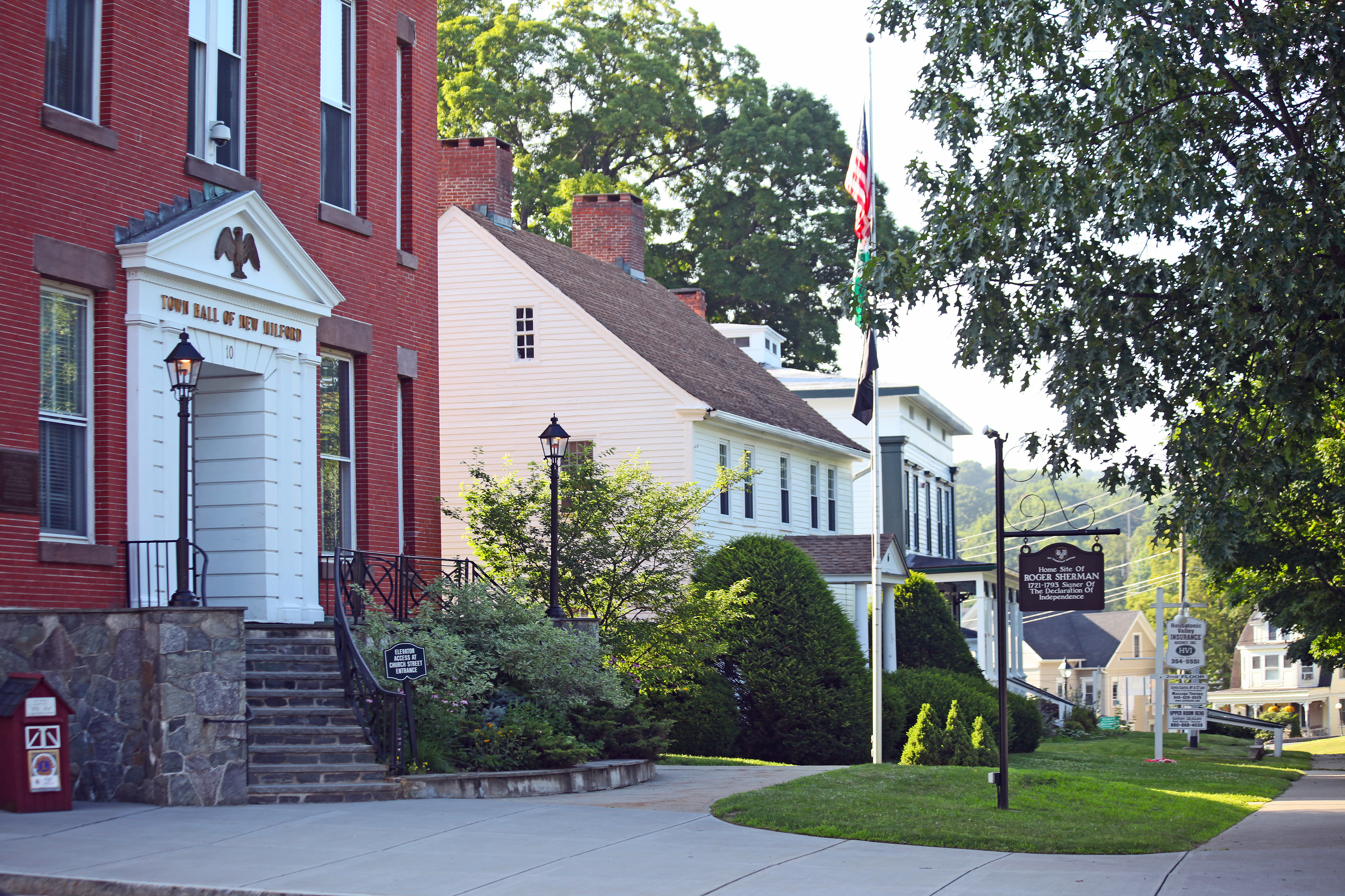 Sherman Real Estate, New Milford Homes, New Fairfield CT Investment